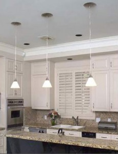 From recessed to pendant. Photo from Worth Home Products online.