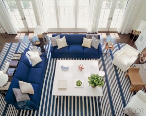 how to create a nautical decorating scheme