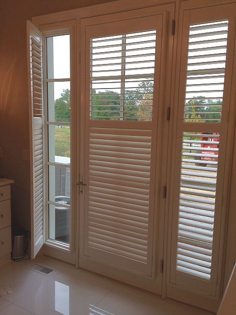Candice Master Shutter. Shutters On French Door ...